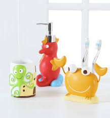 unisex kids bathroom ideas bathroom cheerful nautical kids bathroom accessories set with sea