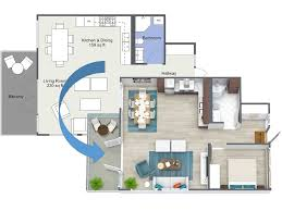 create a floor plan free interior roomsketcher 3d floor plans create instantly winsome plan
