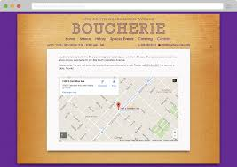 Google Map New Orleans by Boucherie Caliper