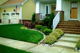 garden ideas easy care landscaping ideas for front yard easy