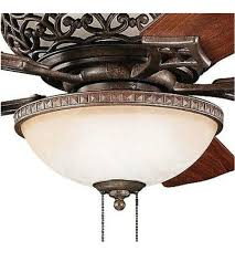 kichler fan light kit kichler 380007tz cortez 3 light tannery bronze fan light kit