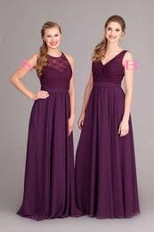purple lace bridesmaid dress discount eggplant lace bridesmaid dresses 2017 eggplant lace