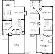 Tamarack Floor Plans by Mackenzie Tamarack Common 10489 Pacesetter Homes