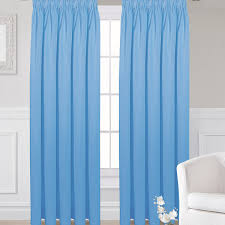blackout curtains pencil pleat blue pencil pleat curtains