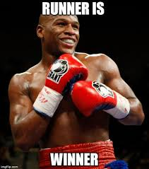Meme Boxing - runner is winner funny boxing meme