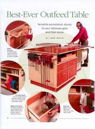 Best Table Saw Blades Outfeed Table Great Ideas Like Storage But Would Like It Bigger