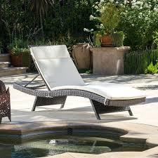 Wicker Patio Lounge Chairs Lexmod Peer Outdoor Wicker Chaise Lounge Chair Bubble Eliana Brown