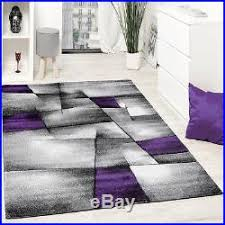 Large Purple Rugs Modern Rug Carpet Modern Abstract Design Grey Purple Small Extra