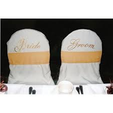 and groom chair covers chair covers banquet groom white irent everything
