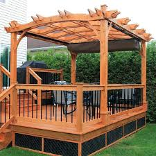 outdoor retractable canopy make outdoor space more pergola with