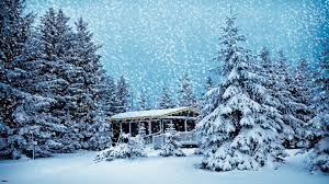snowy christmas pictures snowy christmas scenes wallpaper 48 images