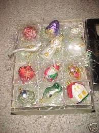 vintage 12 brides tree ornaments nib 32696950