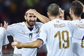bong bach italy italy held by macedonia 1 1 almost into world cup playoffs
