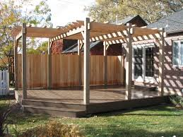Pergola Design Software by Deck With Pergola Plans Design Interesting Decks Pergolas Loversiq