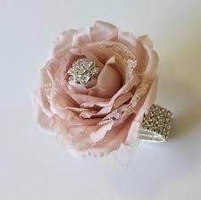 Prom Wrist Corsage Wrist Corsage Blush Wedding Corsage Mothers Corsage Silk Corsage
