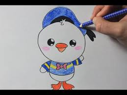 draw donald duck cute easy drawing tutorial
