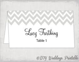 Table Card Template by Greenery Wedding Table Place Card Template Flat And Folded