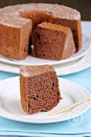 happy home baking oil free chocolate chiffon cake