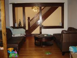 dark wood trim with light blue walls we keep the wood home