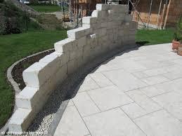 sitzplatz im garten mit steinmauer u2013 performal juliedeane info