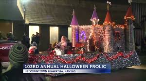 El Paso Christmas Lights by Watch Hiawatha Halloween Frolic Hopes To Become Destination