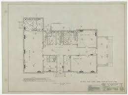 Mechanical Floor Plan Abilene State Hospital Dormitory Abilene Texas First Floor