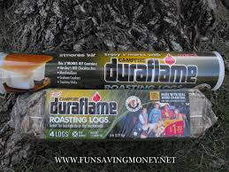 duraflame campfire roasting logs review and giveaway fun saving