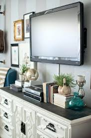 wall ideas decorating around tv on wall in bedroom mounting tv