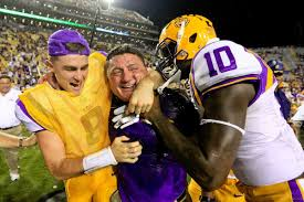 Hired Immediately Ed Orgeron Hired As The Full Time Head Coach Of The Lsu Tigers