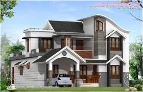 Modern Home Design by Bhk Modern Sloping Roof Kerala Villa Design Home Design Ideas 2015