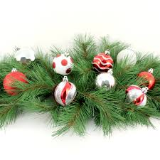 holiday time traditional shatterproof christmas ornaments set of
