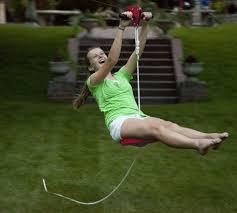 How To Build A Backyard Zip Line by Easy Install Backyard Zipline Greatest Stuff On Earth
