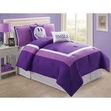 purple bedding sets for girls vcny home hotel juvi kids 4 5 piece bedding comforter set