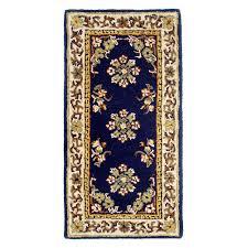 minuteman international blue oriental hearth rug walmart com