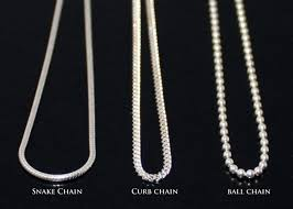 silver curb necklace images Sterling silver 925 chain snake chain curb chain ball chain jpg