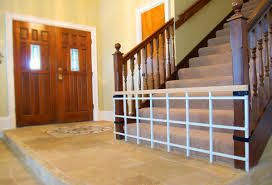 Evenflo Stair Gate by Photos Of My Dining Room U0027s Refinished Stone Tile Floor