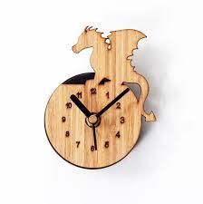 horloges cuisine réfrigérateur aimant horloges cuisine horloge bambou bois couleur