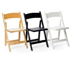 rent folding chairs persiano events rentals white wood style folding chairs for