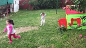 backyard cricket with 4 yr old autistic 2 yr old toddler and
