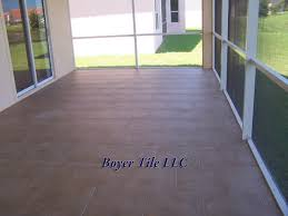 Basket Weave Brick Patio by Large Format Ceramic Tile Beware Brick Patterns