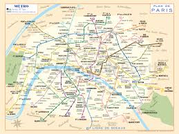Washington Metro Map by 1956 Paris Metro Map Digital Recreation Modern Colours U2013 Large