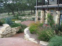 house plan hill country home designs striking texas xeriscaping