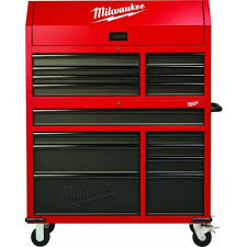 tool chest and cabinet set 46 in 16 drawer tool chest and rolling cabinet set red and black