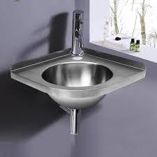 steel triangle round hand wash basin corner sink for rv caravan