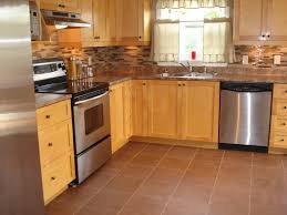 Kitchen Floor Tile Ideas With Oak Cabinets Halifax Tile Company In Kitchen Tiles Halifax Design Design Ideas