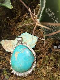 natural turquoise necklace images Cripple creek turquoise pendant set in sterling silver my gypsy jpg