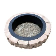 Fire Pit Liner by Steel Fire Pit Liner Campfire Ring 45