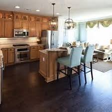 Kitchen With Light Cabinets I Want Dark Hardwood Floors But Have Light Cabinets It Actually