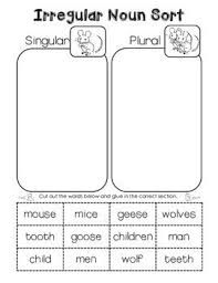 free irregular plural noun word search tpt free lessons