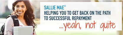 sallie mae or welcome to student loan slavery or making deals with
